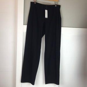 Eileen Fisher NWT washable crepe black pants M
